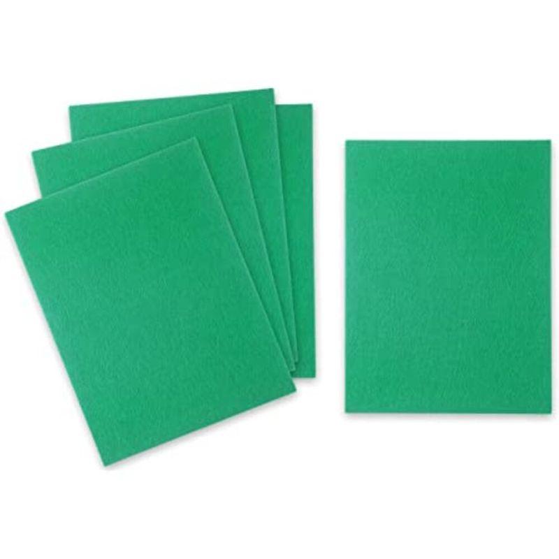 Fieltro-Duro-A4-Verde-Oscuro