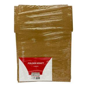 Folder Oficio De Cartulina Kraft 235Gr
