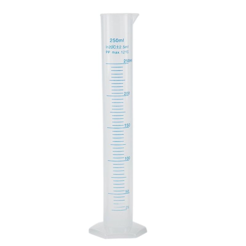 Probeta-250ml-plastico